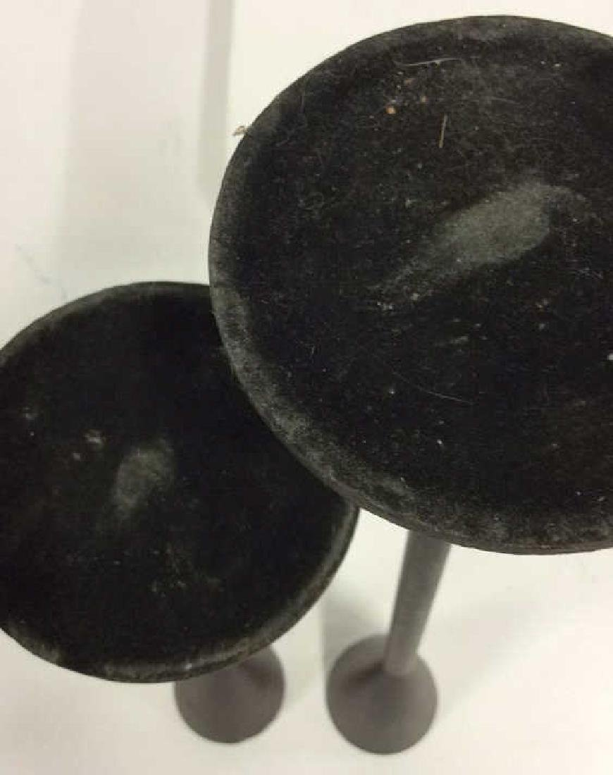 Pair Faux Iron Candlesticks - 7