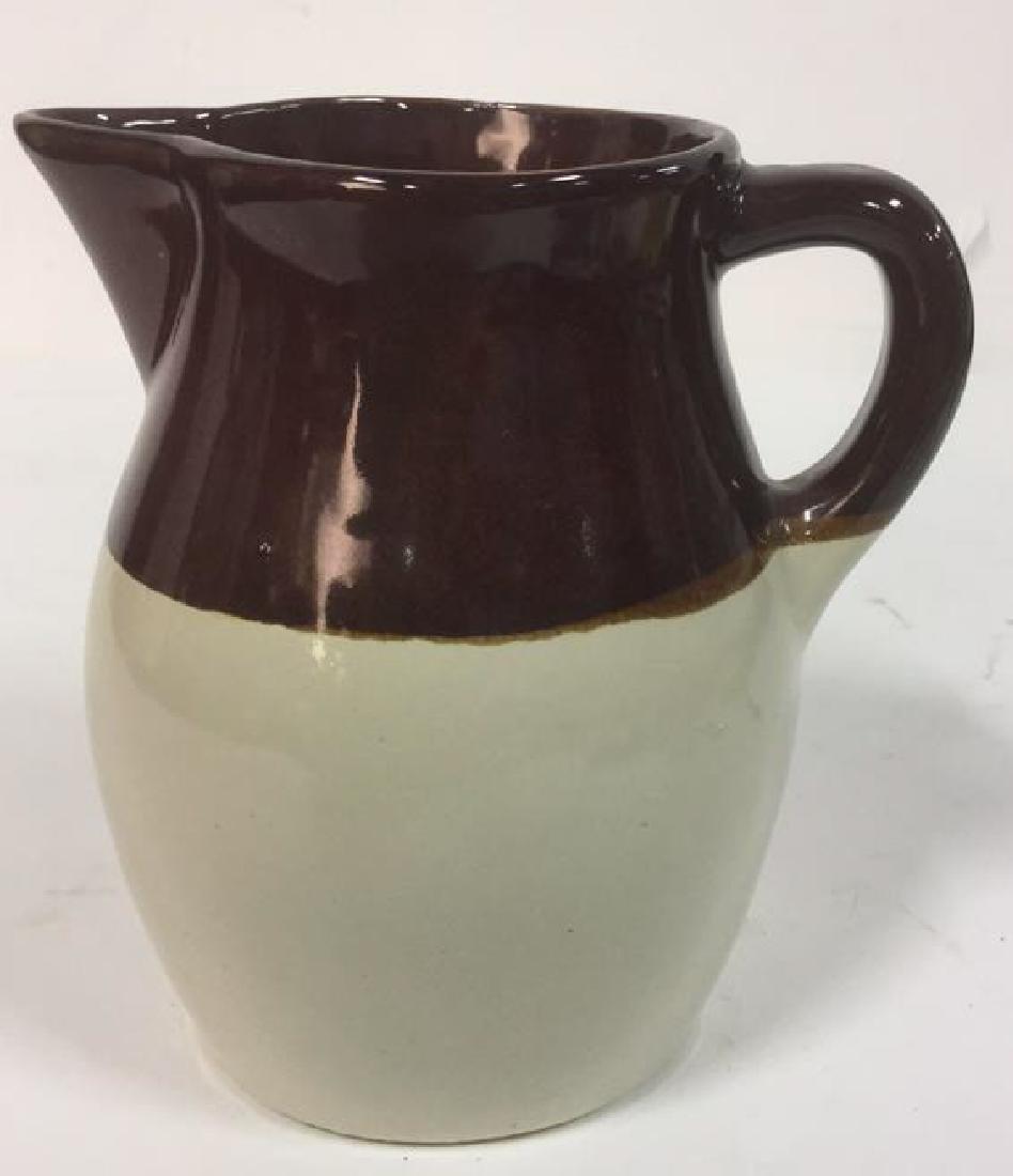 Roseville Marked Pottery Pitcher