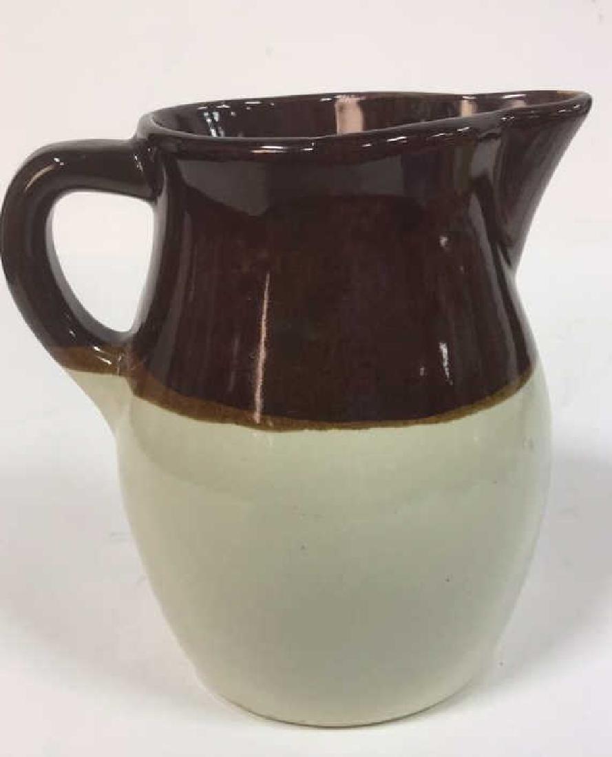 Roseville Marked Pottery Pitcher - 5