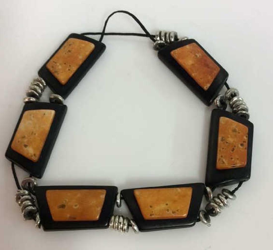 JUMALI Labeled Wood Bracelet