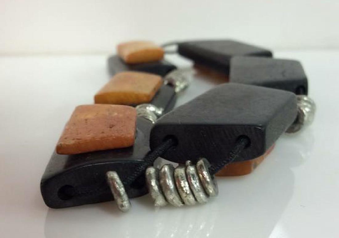 JUMALI Labeled Wood Bracelet - 5