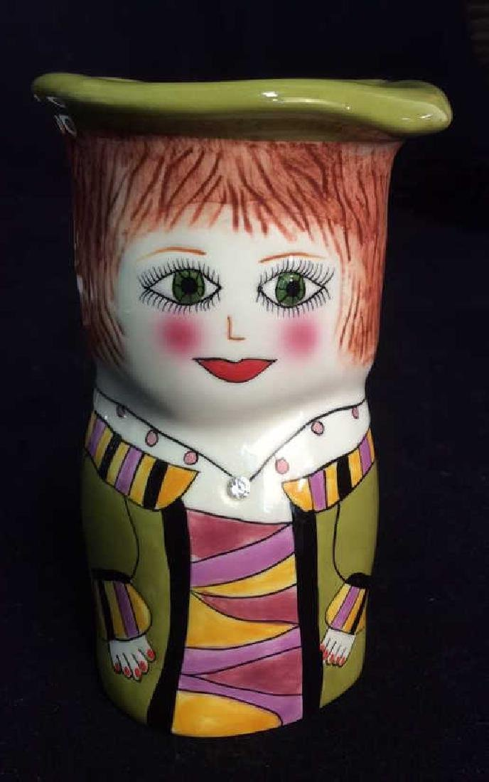 Lot 2 Susan Paley Hand Painted Studio Pottery - 4