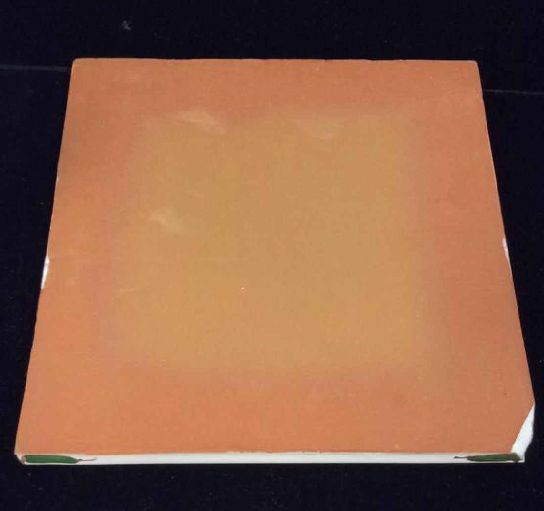 Pair Decorative Hand Painted Ceramic Tiles - 5