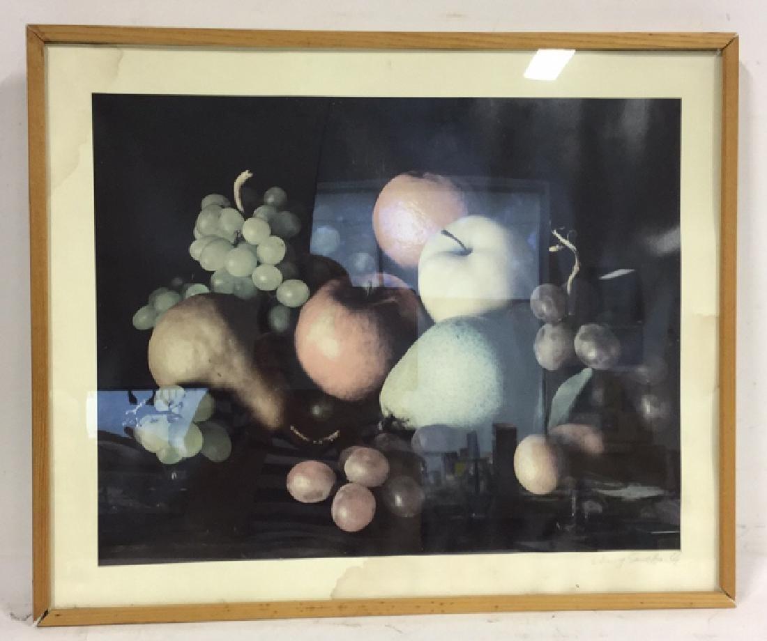 Framed Print Of Still-life Fruit Photo