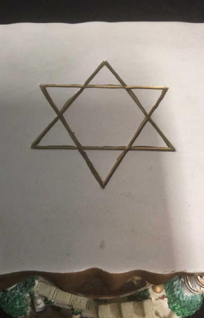 Star Of David Snow Globe, Judaica - 3