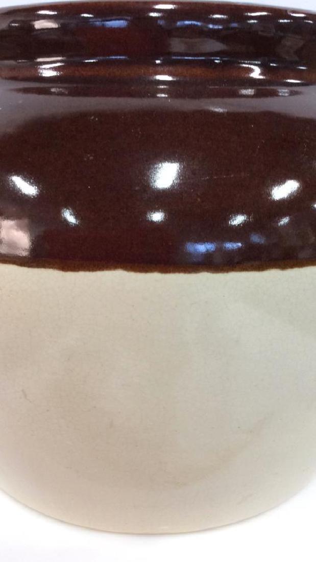 Two Toned Glazed Ceramic Jug, USA - 2