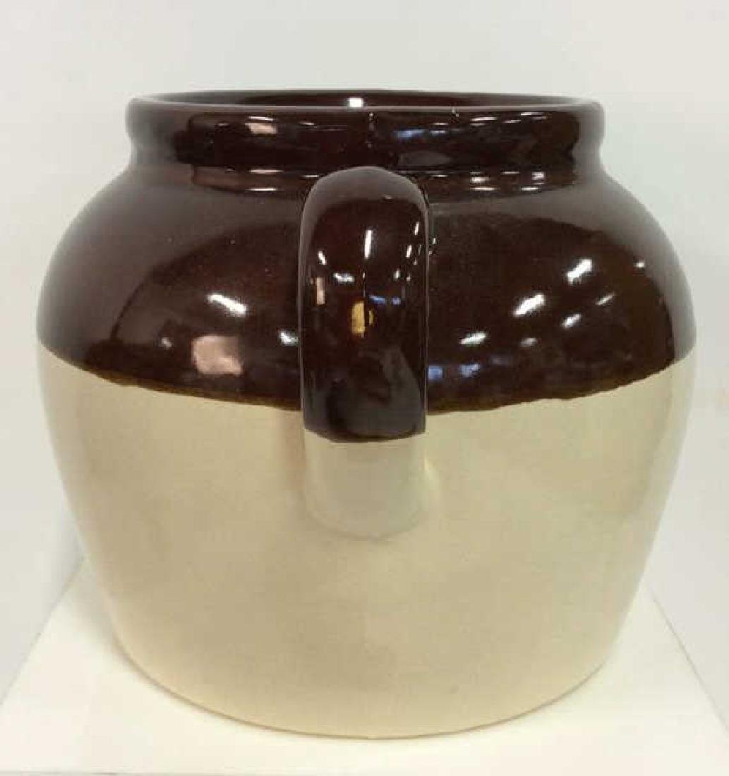 Two Toned Glazed Ceramic Jug, USA - 3