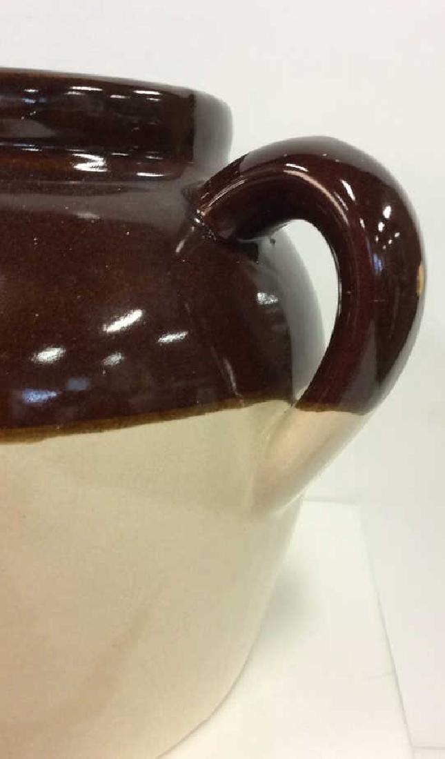 Two Toned Glazed Ceramic Jug, USA - 5
