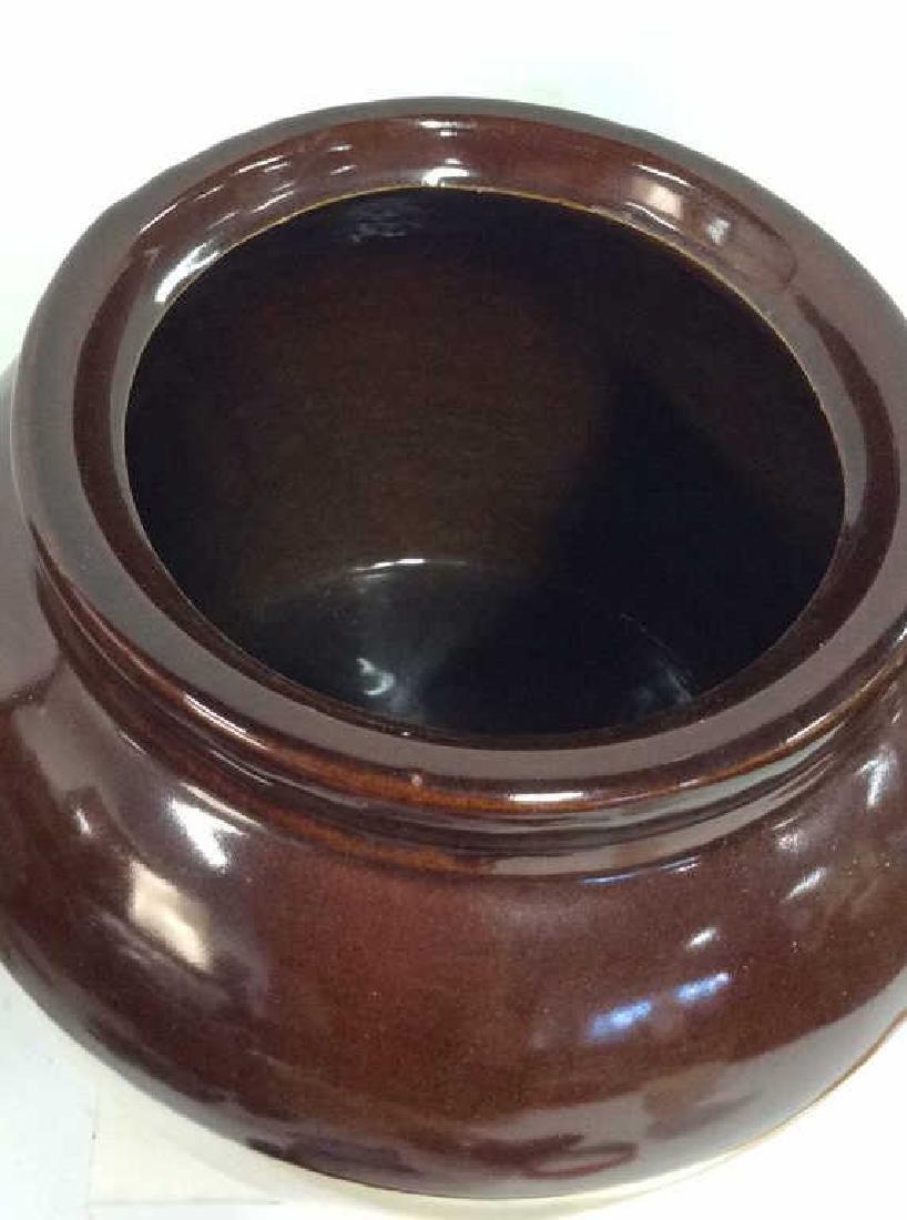 Two Toned Glazed Ceramic Jug, USA - 6