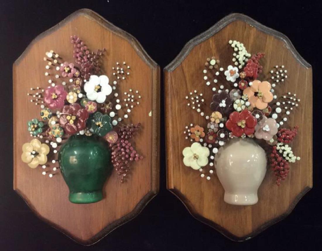 Pauline A. Owens Vintage Flower Vase Nail Art