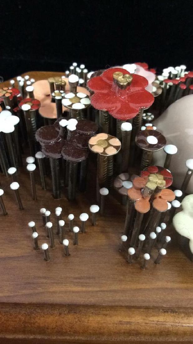 Pauline A. Owens Vintage Flower Vase Nail Art - 3