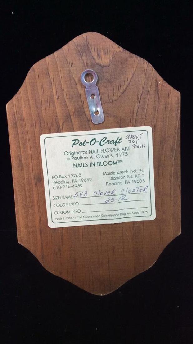 Pauline A. Owens Vintage Flower Vase Nail Art - 5