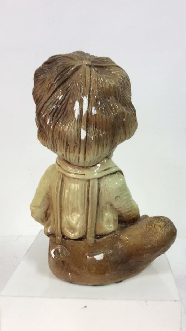Garden Statue Boy W Dog - 4