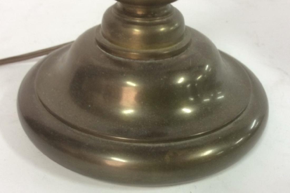 CHAPMAN 1982 Brass Candlestick Lamp - 6