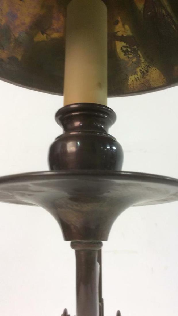 CHAPMAN 1982 Brass Candlestick Lamp - 7
