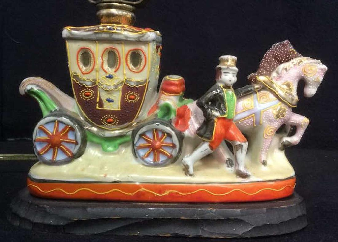 Intricately Detailed Circus Style Lamp