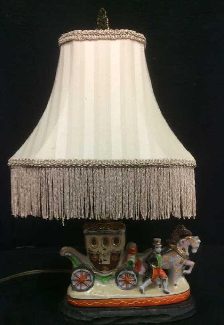 Intricately Detailed Circus Style Lamp - 2