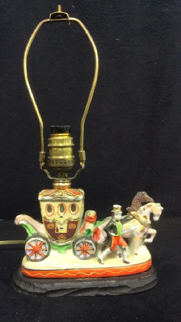 Intricately Detailed Circus Style Lamp - 3