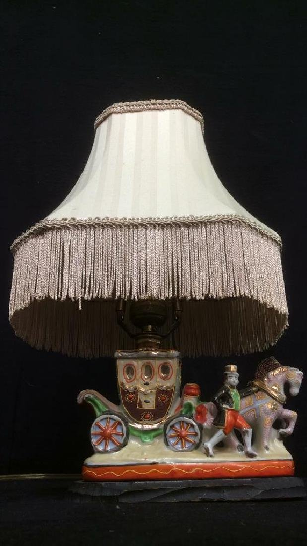 Intricately Detailed Circus Style Lamp - 6