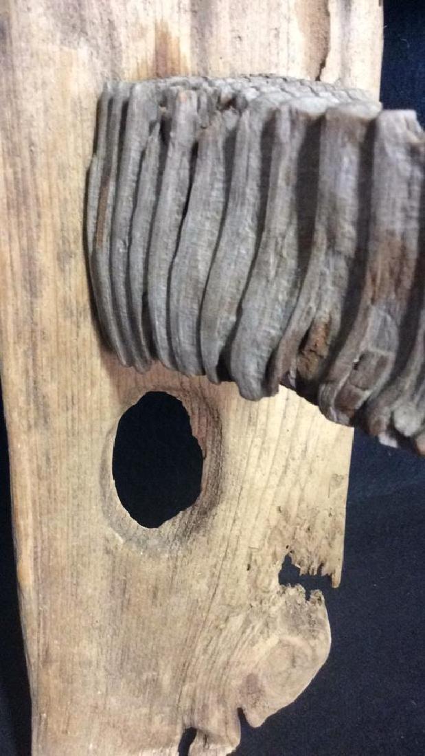 Wood Assemblage Sculpture Folk Art - 3