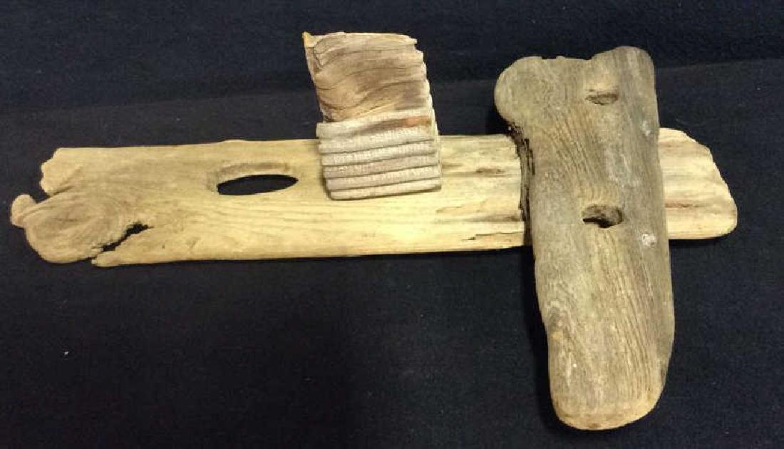 Wood Assemblage Sculpture Folk Art - 8
