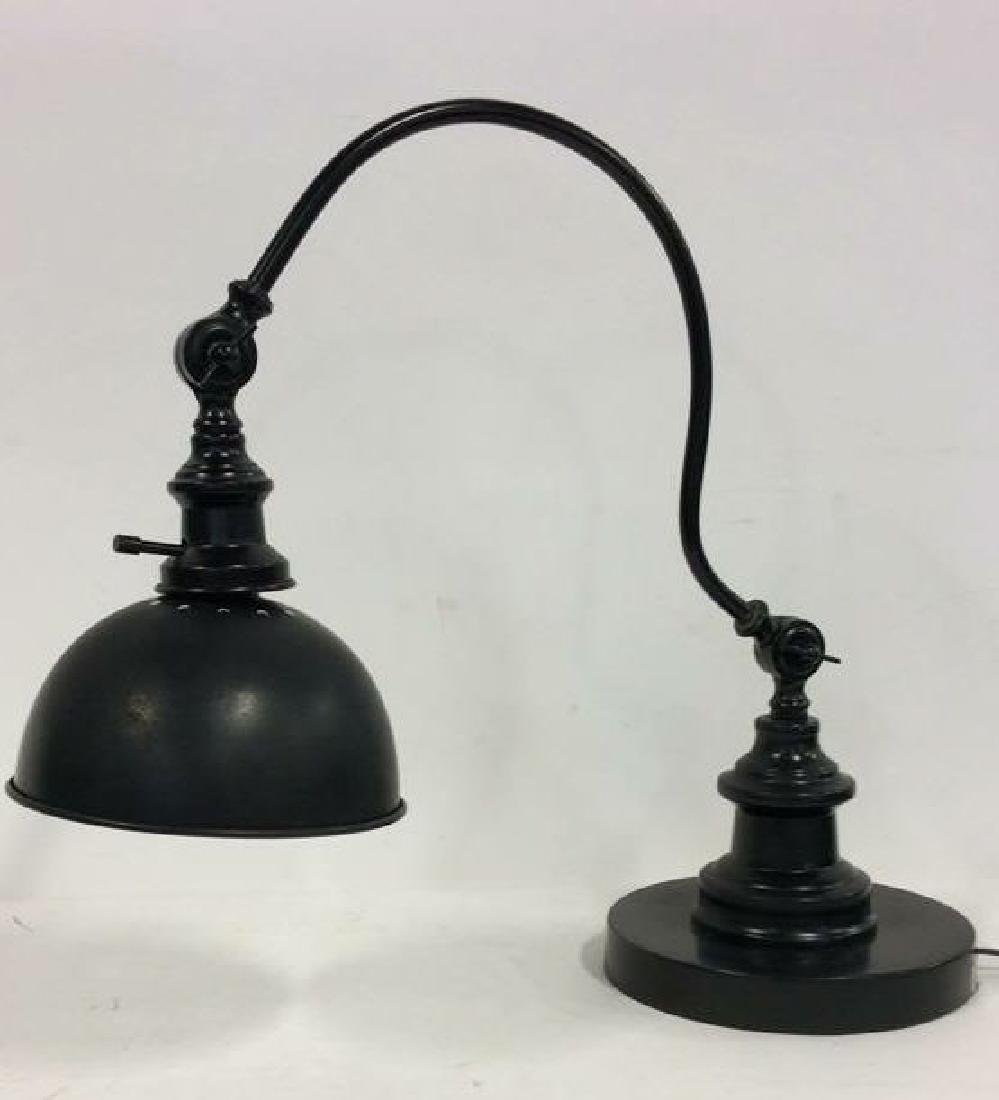 Adjustable Curved Industrial style Table Lamp