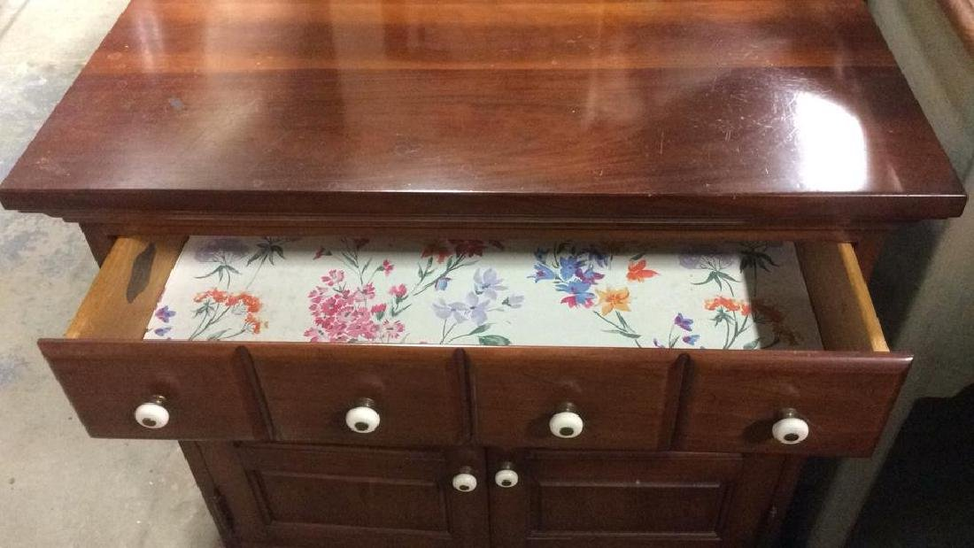 SOUTHERN COLONIAL Wooden Dresser & Drawer - 2