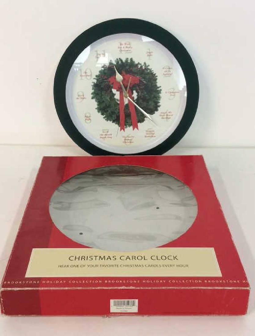 BROOKSTONE Christmas Carol Clock