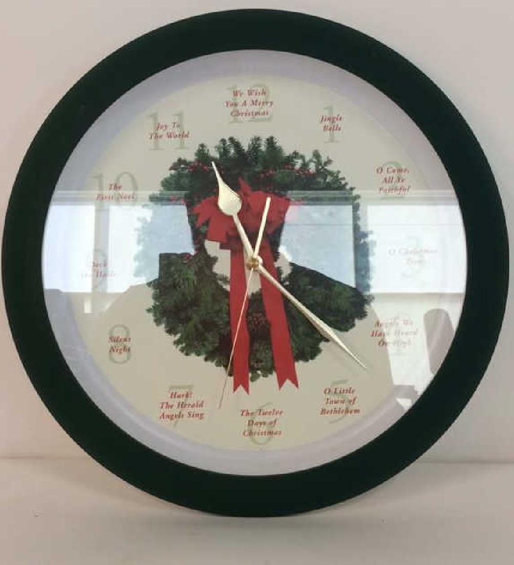 BROOKSTONE Christmas Carol Clock - 2