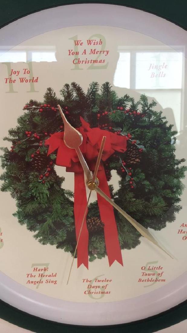 BROOKSTONE Christmas Carol Clock - 3