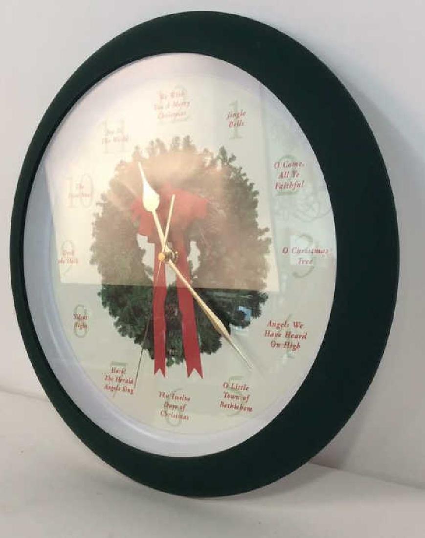 BROOKSTONE Christmas Carol Clock - 4
