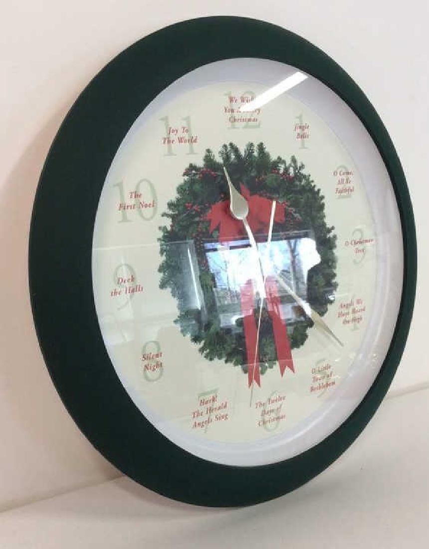 BROOKSTONE Christmas Carol Clock - 5