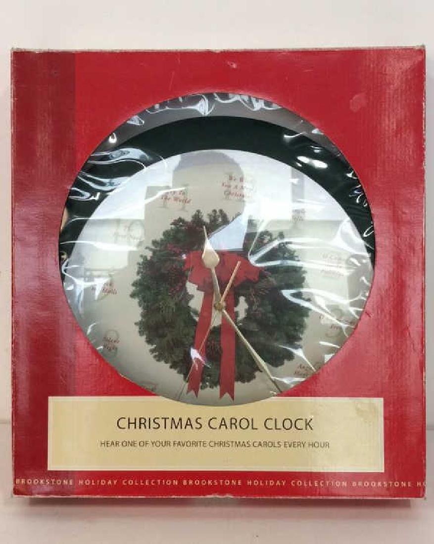 BROOKSTONE Christmas Carol Clock - 6