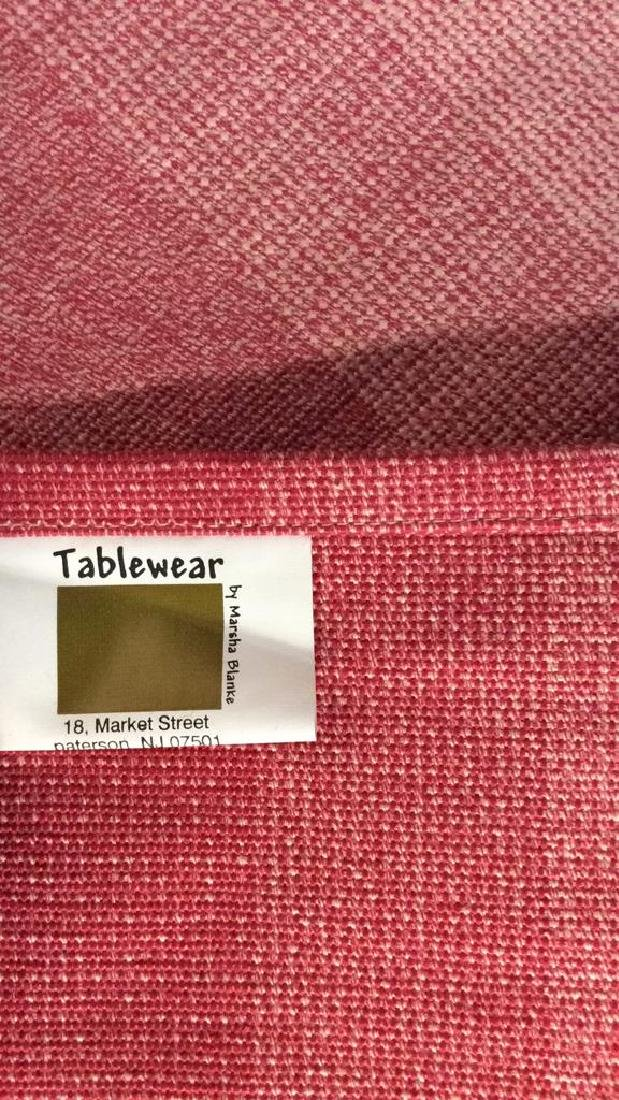 Set 4 TABLEWARE BY MARSHA BLANKE Placemats - 3