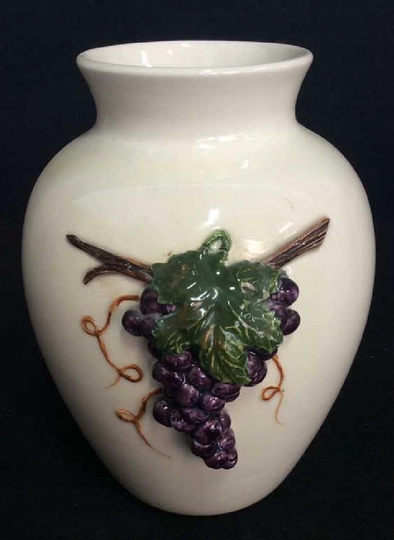 Lot 2 Porcelain Planter Vases - 5