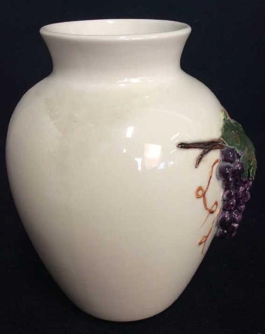 Lot 2 Porcelain Planter Vases - 6