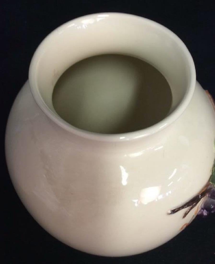 Lot 2 Porcelain Planter Vases - 7