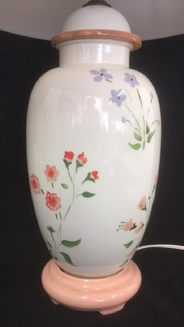 Hand Painted Ceramic Porcelain Table Lamp