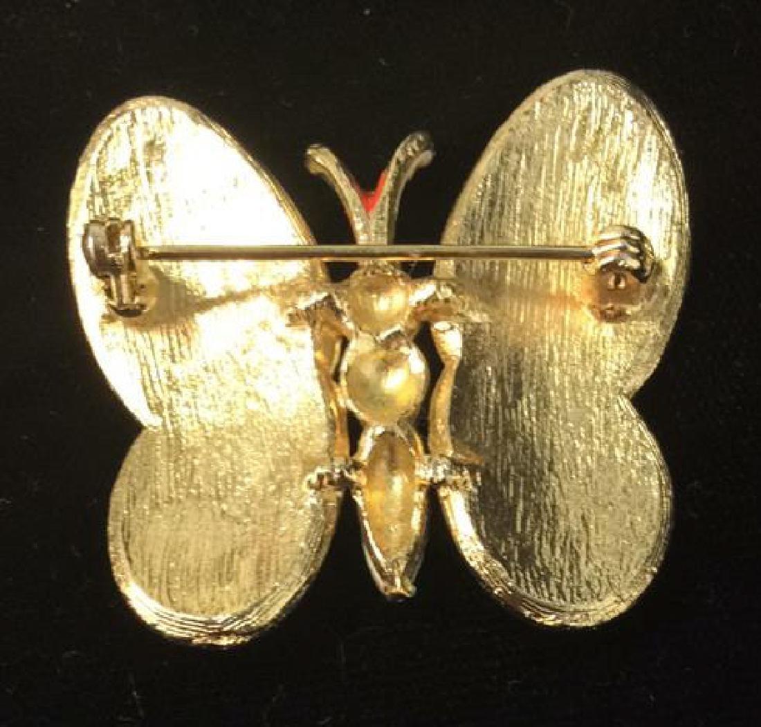 Lot 4 Women's Animal Figural Brooch Pins - 5