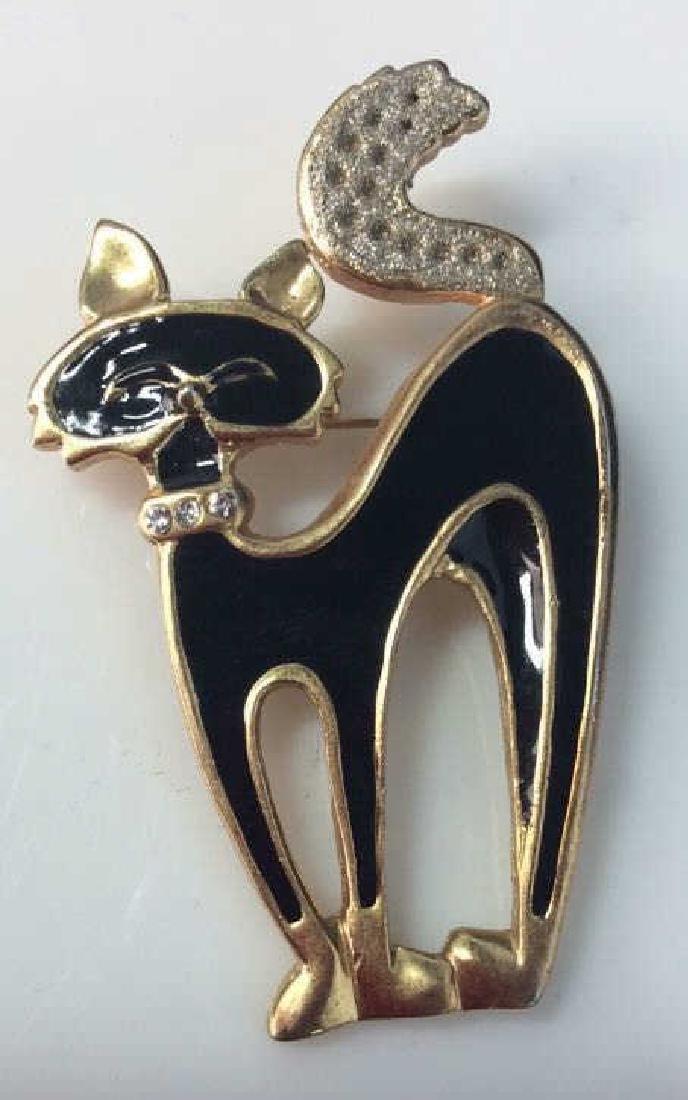 Lot 4 Women's Animal Figural Brooch Pins - 6