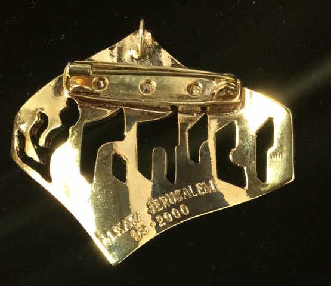 Lot 4 Women's Brooch Pins Jewelry, SIgned - 6