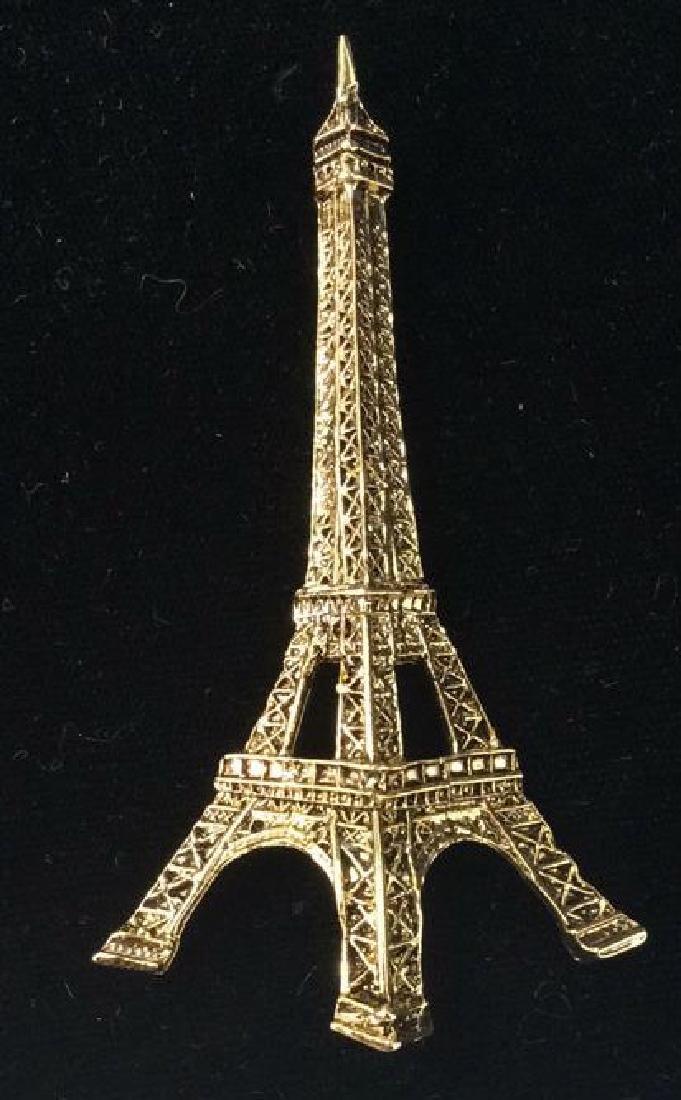 Lot 4 Women's Brooch Pins Jewelry, SIgned - 7