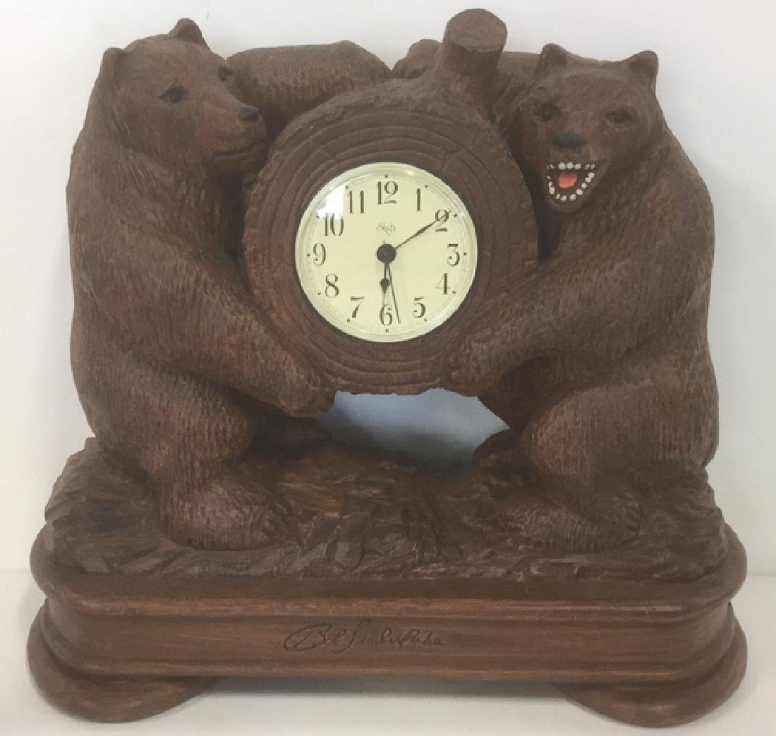 Sligh Bear Clock By Bob Timberlake
