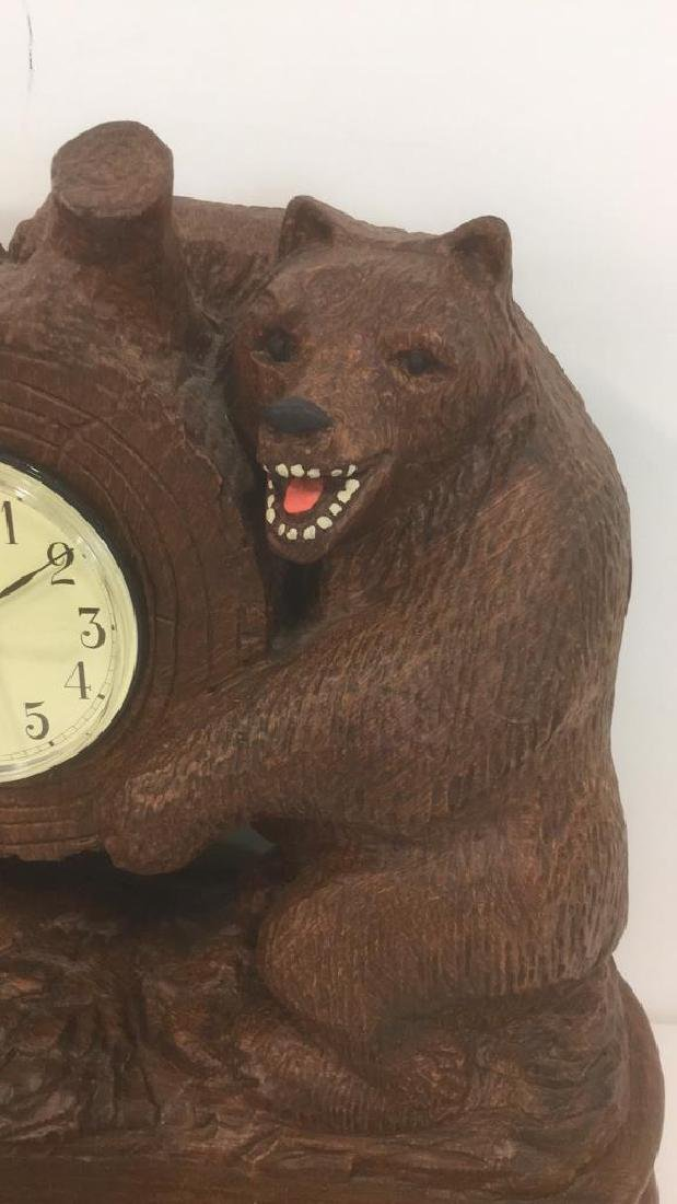 Sligh Bear Clock By Bob Timberlake - 2
