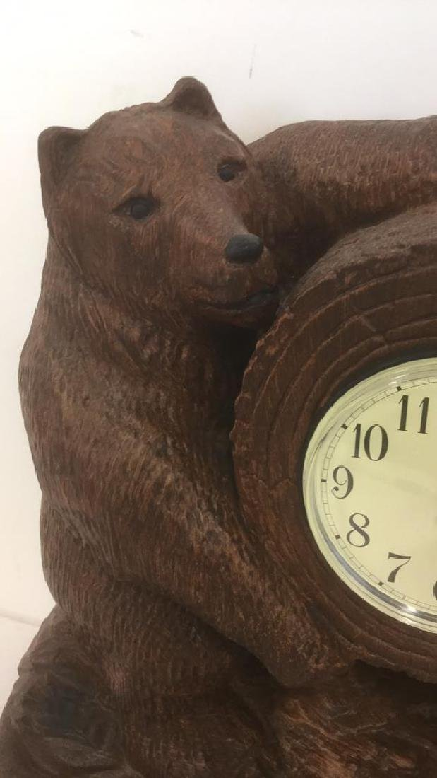 Sligh Bear Clock By Bob Timberlake - 5