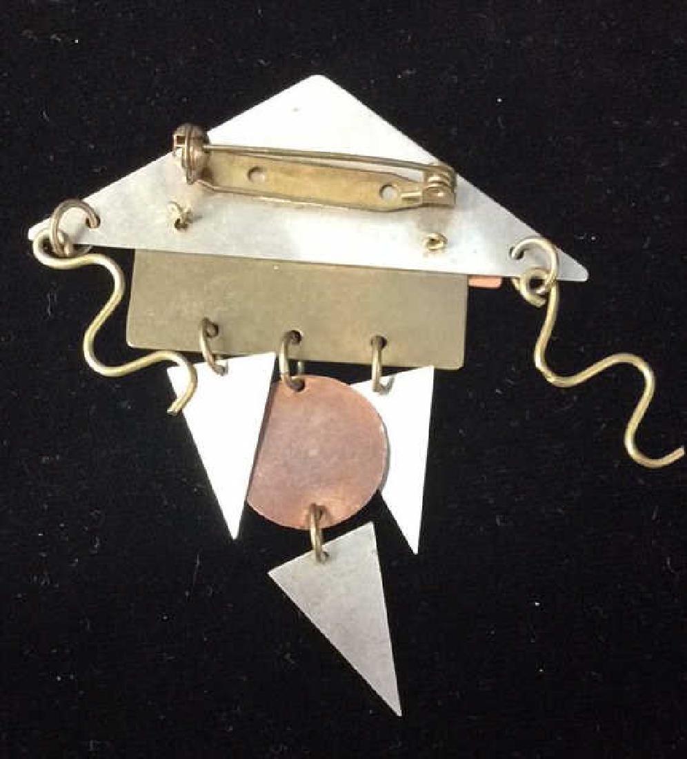 Lot 3 Metal Women's Brooch Pins Jewelry - 3