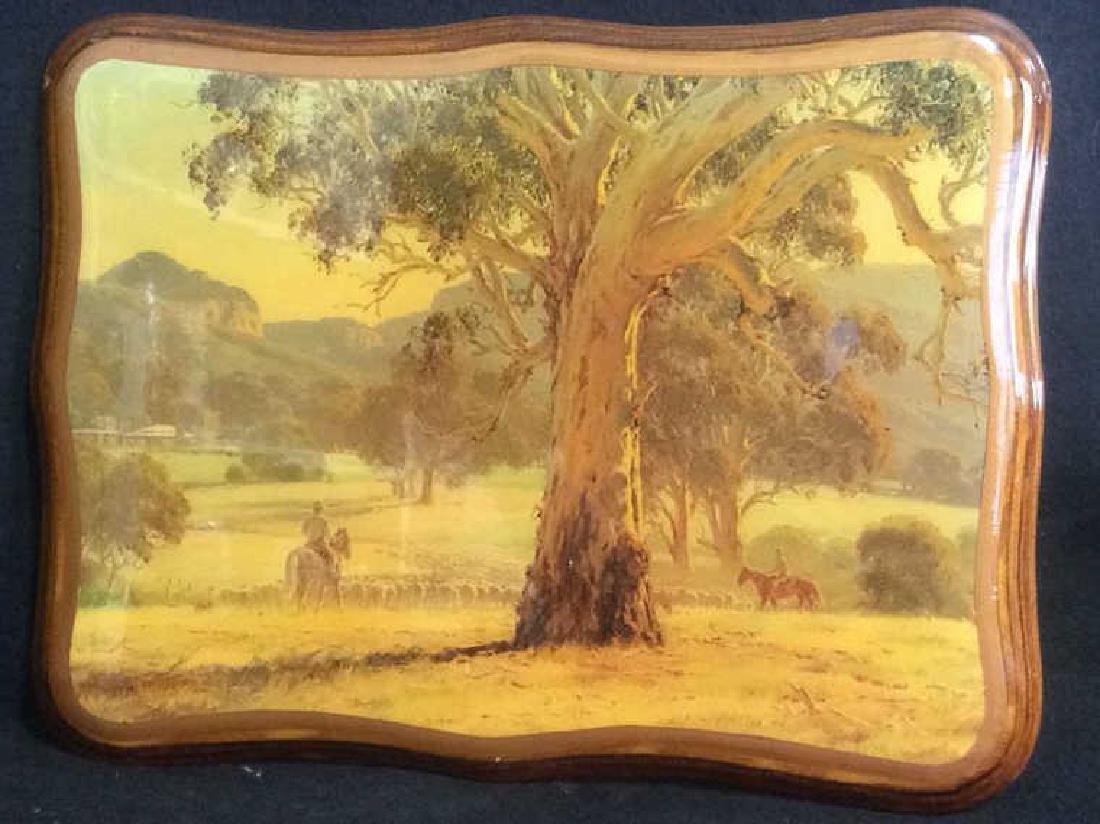AUSTRALIAN ART ROD MEVIN DUFFY Artwork On Wood