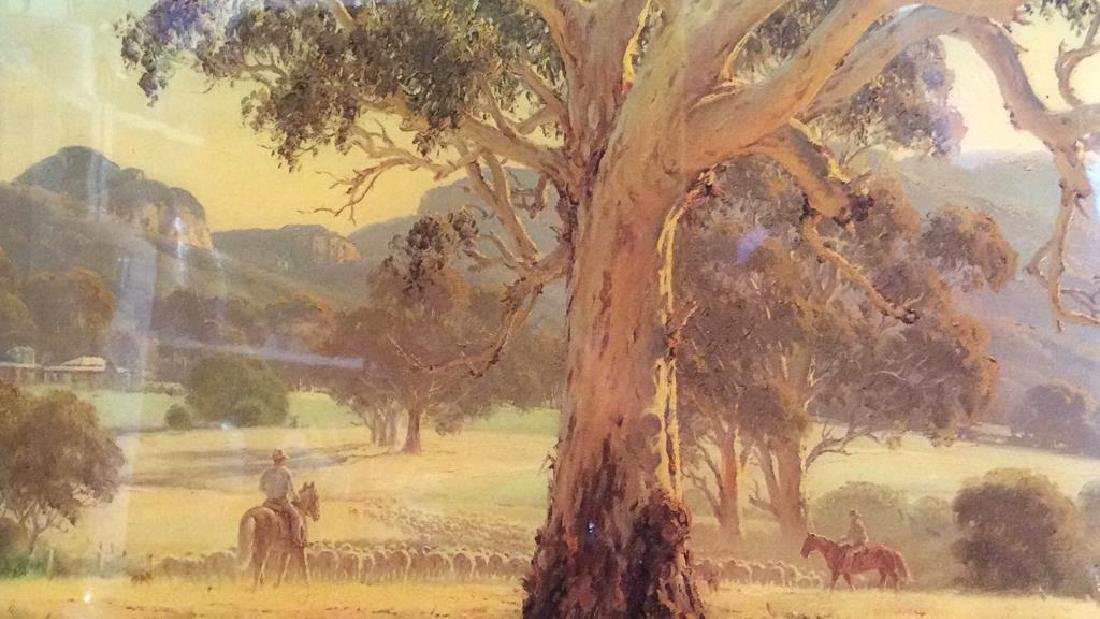 AUSTRALIAN ART ROD MEVIN DUFFY Artwork On Wood - 2