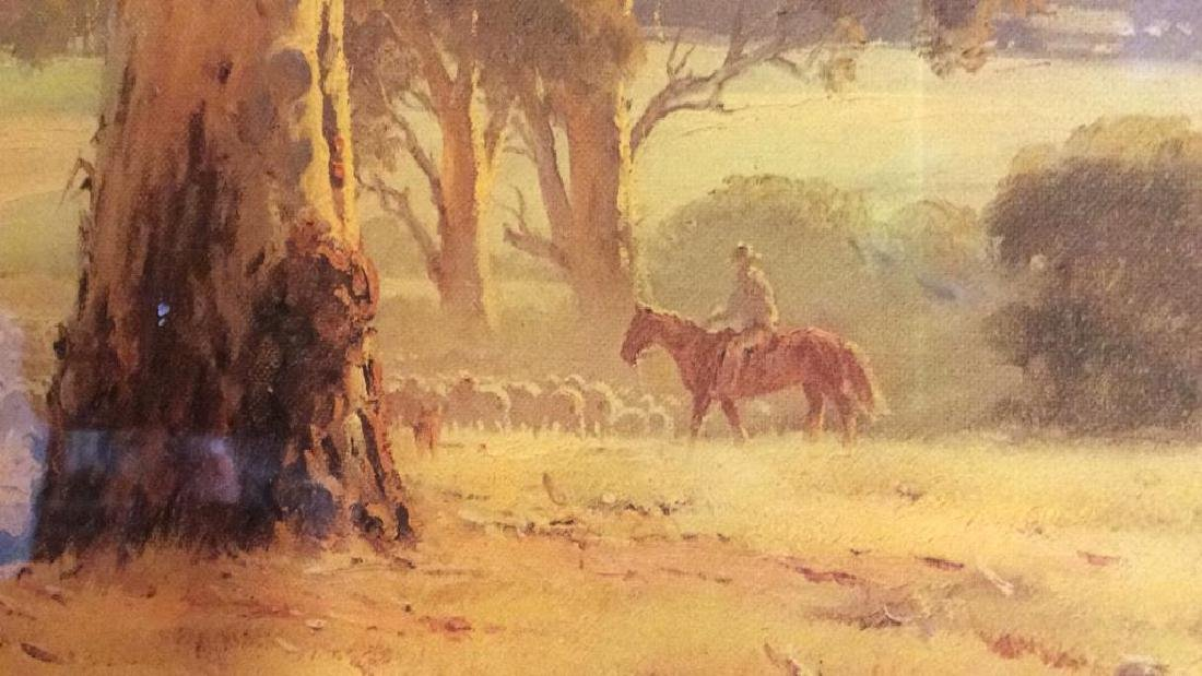 AUSTRALIAN ART ROD MEVIN DUFFY Artwork On Wood - 3
