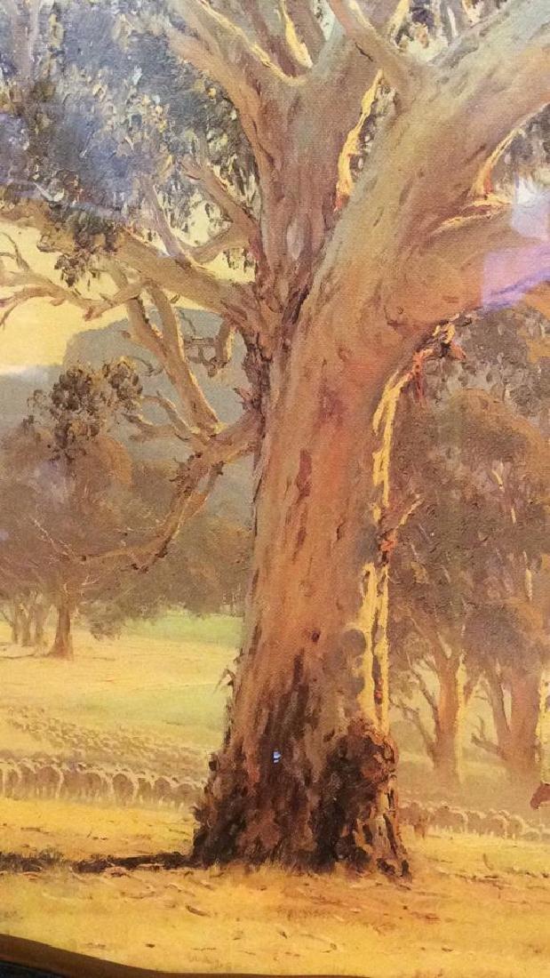 AUSTRALIAN ART ROD MEVIN DUFFY Artwork On Wood - 5
